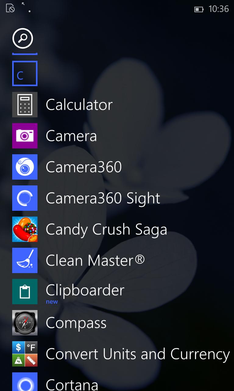 ویندوز 10 موبایل