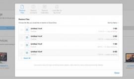 بازگردانی اطلاعات iCloud
