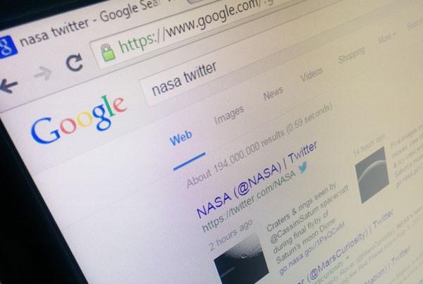 نتایج جستوجوی گوگل
