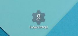 اپ Google Settings