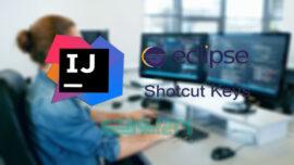 کلیدهای میانبر Intellij IDEA و Eclipse