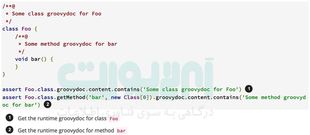 آموزش زبان برنامه نویسی Groovy